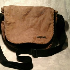 Jansport Corduroy Cross body Bag NWOT